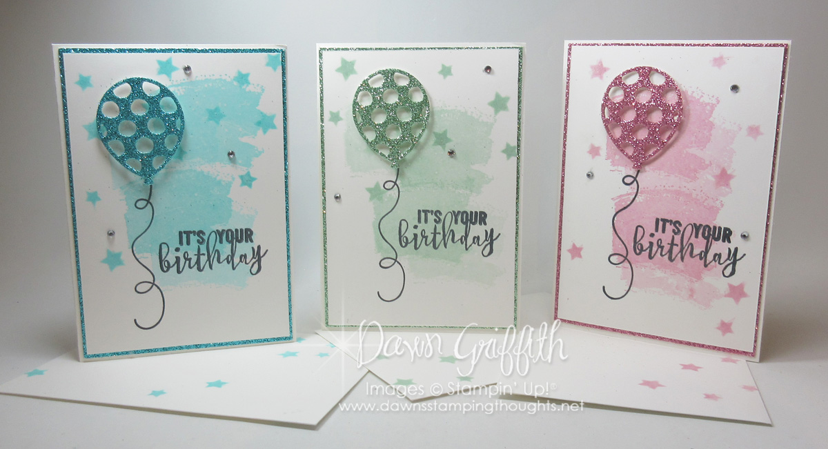 balloon adventure birthday card video  dawn's stamping thoughts, Birthday card