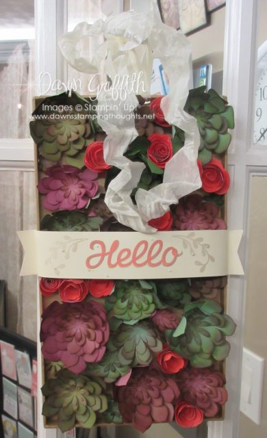 Vertical Garden Project Kit by Dawn Griffith Stampin'Up! Demonstrator