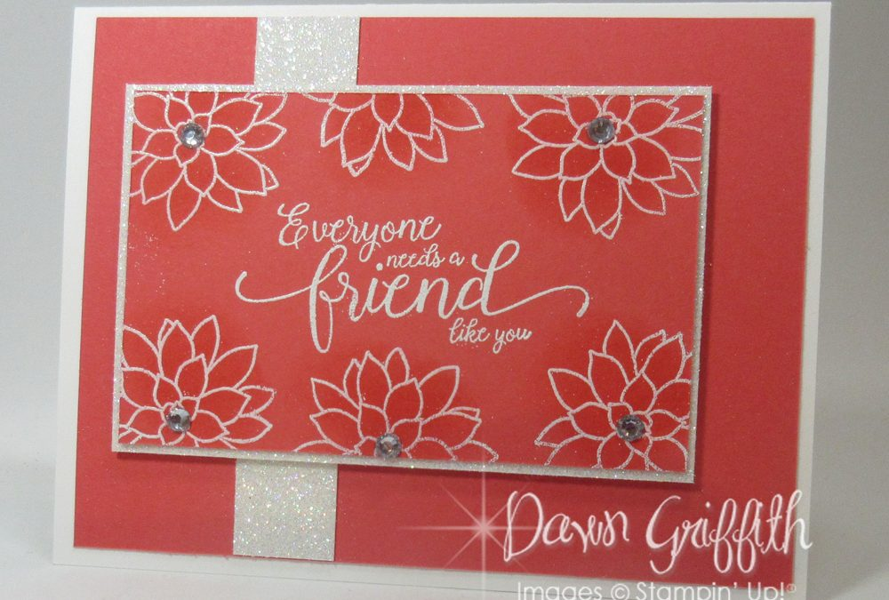 Embossing & Sponging video