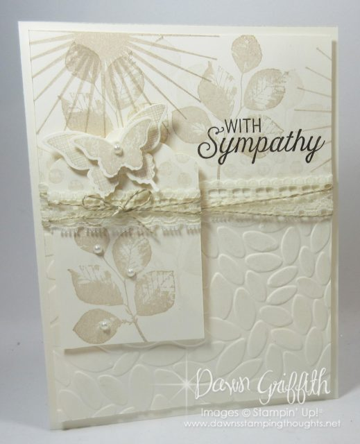 With Sympathy , Kinda Eclectic, details on my blog by Dawn Griffith