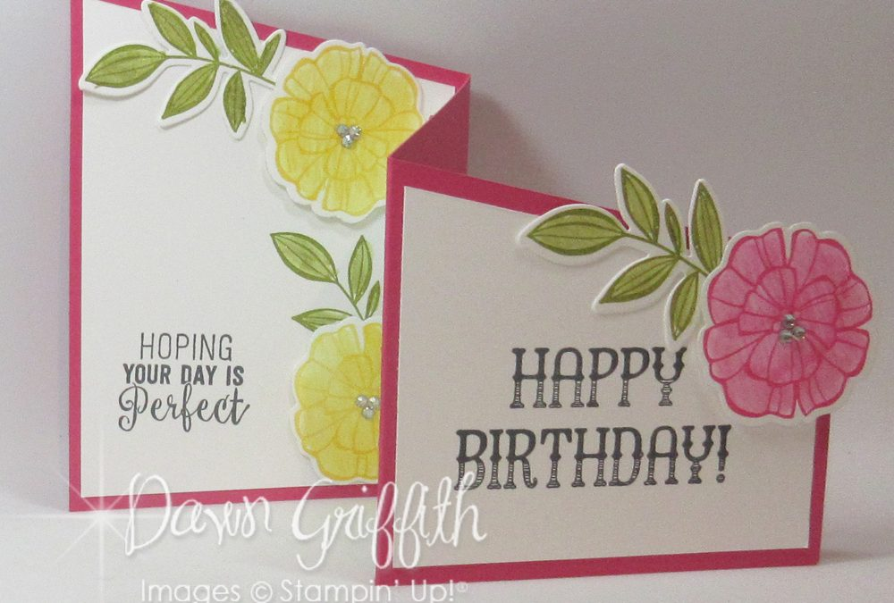 Z Fold Birthday card video