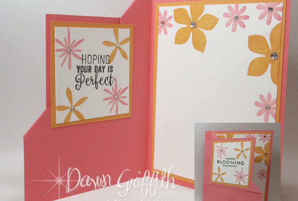 Corner Flip card video