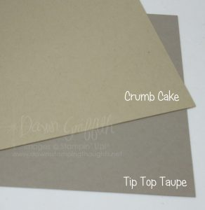 Tip top taupe compared to Crumb Cake Dawn Griffith