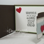 Fun Fold Flap card video~Coffee Cafe'