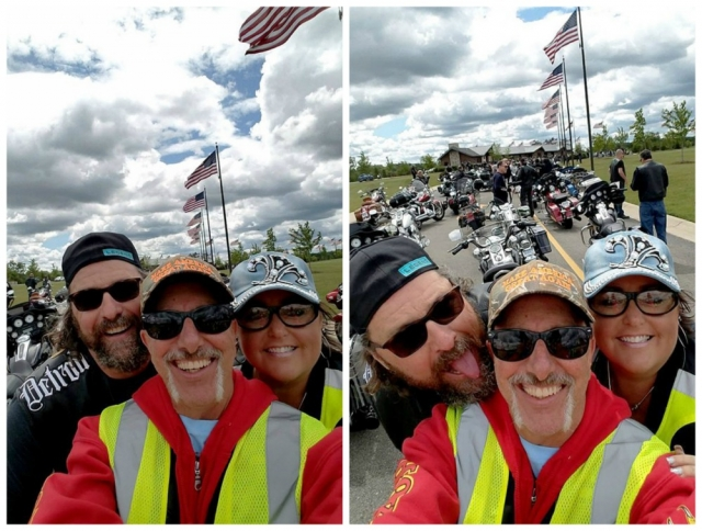 Harley's for Heroes ride