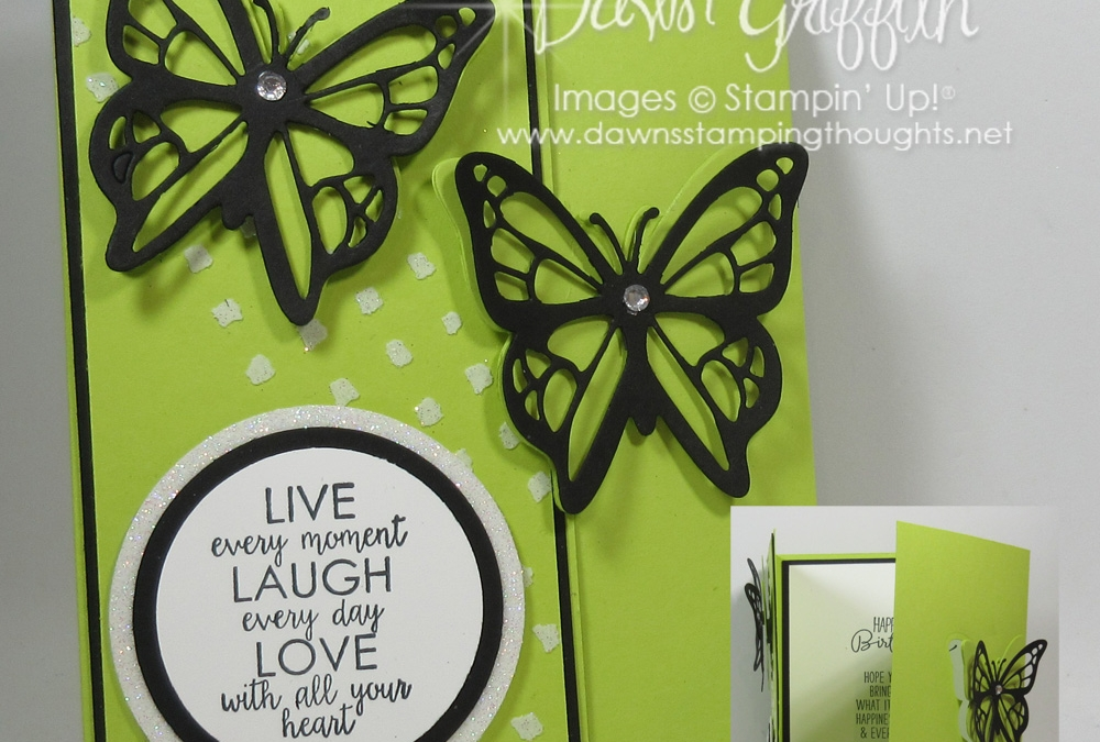 Live Laugh Love Tri Fold card video