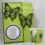 Live Laugh Love Tri Fold card video