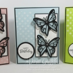 Lemon Lime Twist Butterfly Birthday card video