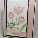 Tranquil Tulips card video