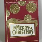 Merry Mistletoe Gold
