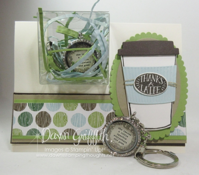 Coffee Cafe goodies for Glitter Queens retreat 2017 by Dawn Griffith all the details posted on my blog at http;//www.DawnsStampingThoughts.net