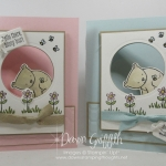 Hello Honey Bear Peekaboo Window card video