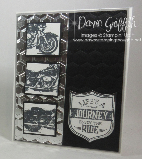 Life's a Journey birthday card by Dawn GriffithVideo postedon my blog today check out all the details www.Dawnsstampingthoughts.net