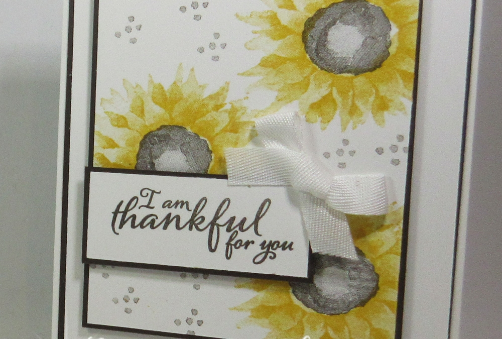 Thankful for you card video