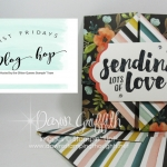 First Friday Glitter Queen Blog Hop ~Theme Designer Paper