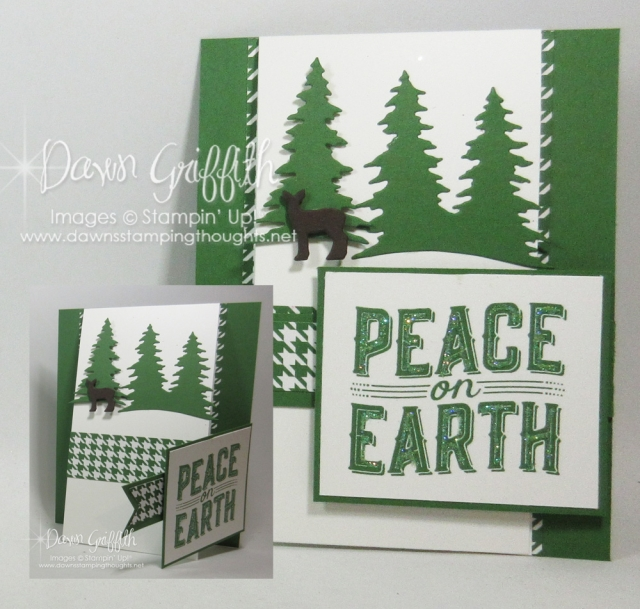 Two way fun fold card by Dawn Griffith Video and supply list are posted on my blog www.DawnsStampingthoughts.net
