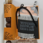 Halloween Treat Tube holder