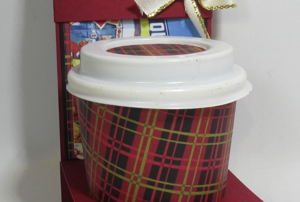 Christmas Mini Coffee cup holders