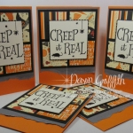 Creep it Real ~ Simple  Halloween card series card #4