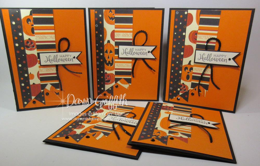 Simple Halloween card series~ card #2 Spooky Halloween card