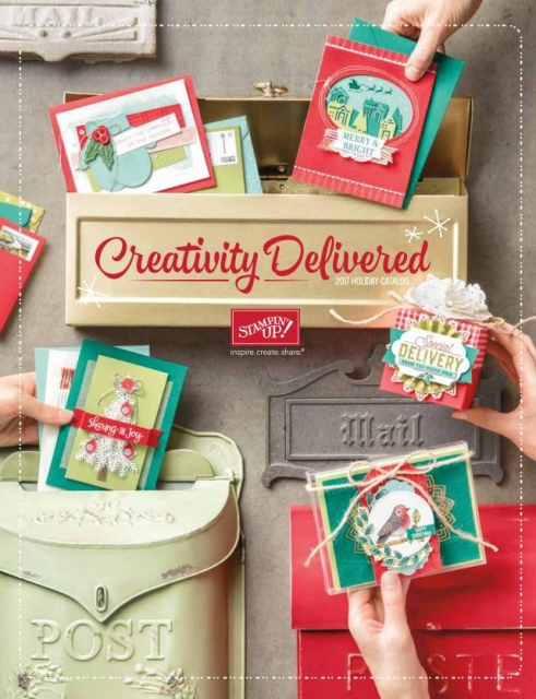 Order Stampin'Up! Holiday catalog online today . something for everyone is this amazing seasonal catalog