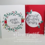 Watercolor Christmas Project card kit video