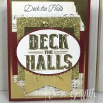 Deck the Halls Card Sketch #1