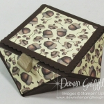 Faceted Box with Envelope Punch Board video