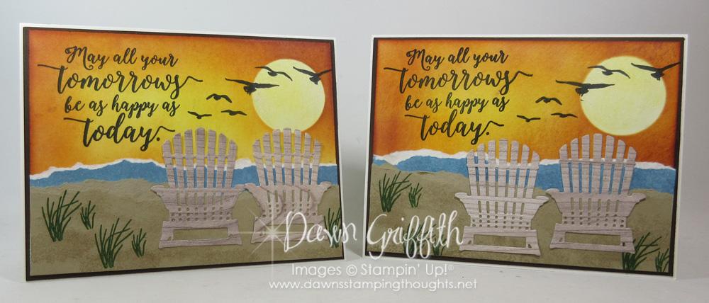 Sunset Beach card video