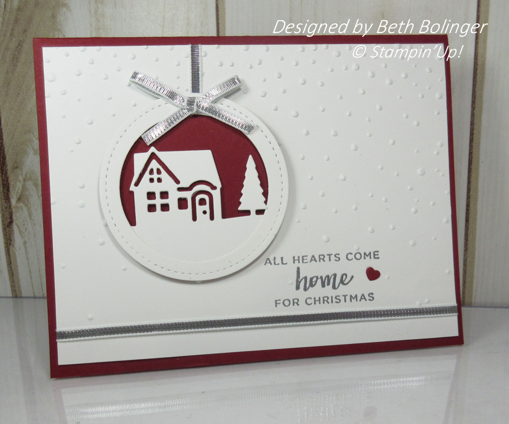 Hearts Come Home Christmas card video - Dawn\'s Stamping Thoughts