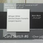 Card Sketch #6