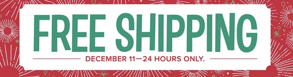Free Shipping today Only !