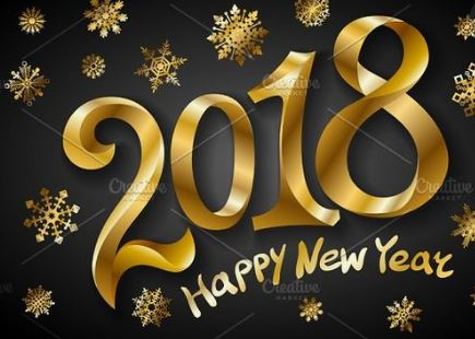#1 count down to Happy New Year 2018