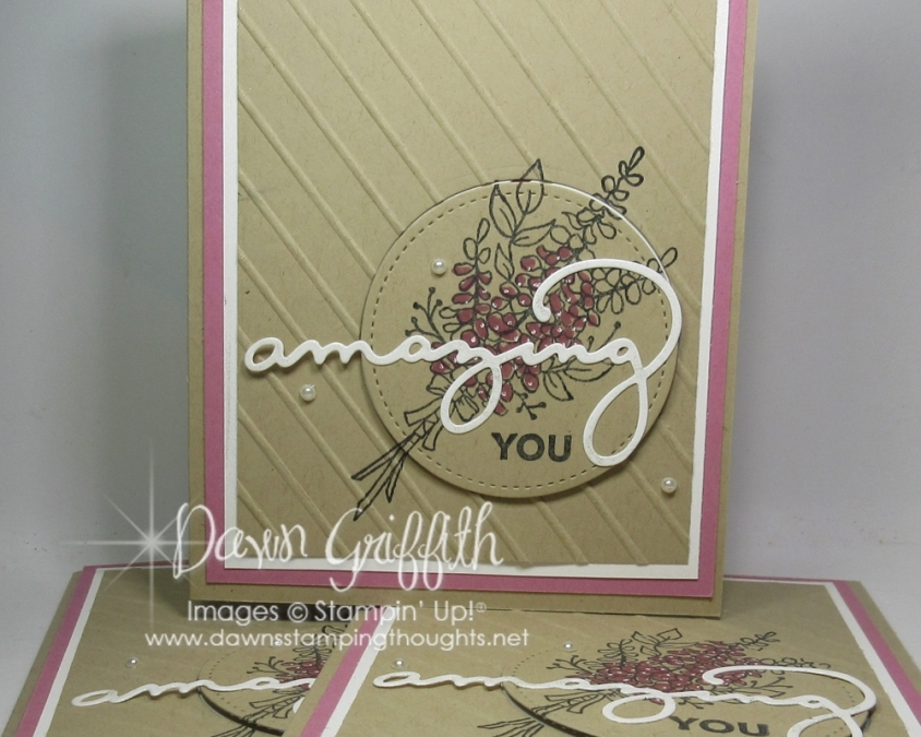 Amazing YOU card video