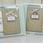 Barn Door  card video
