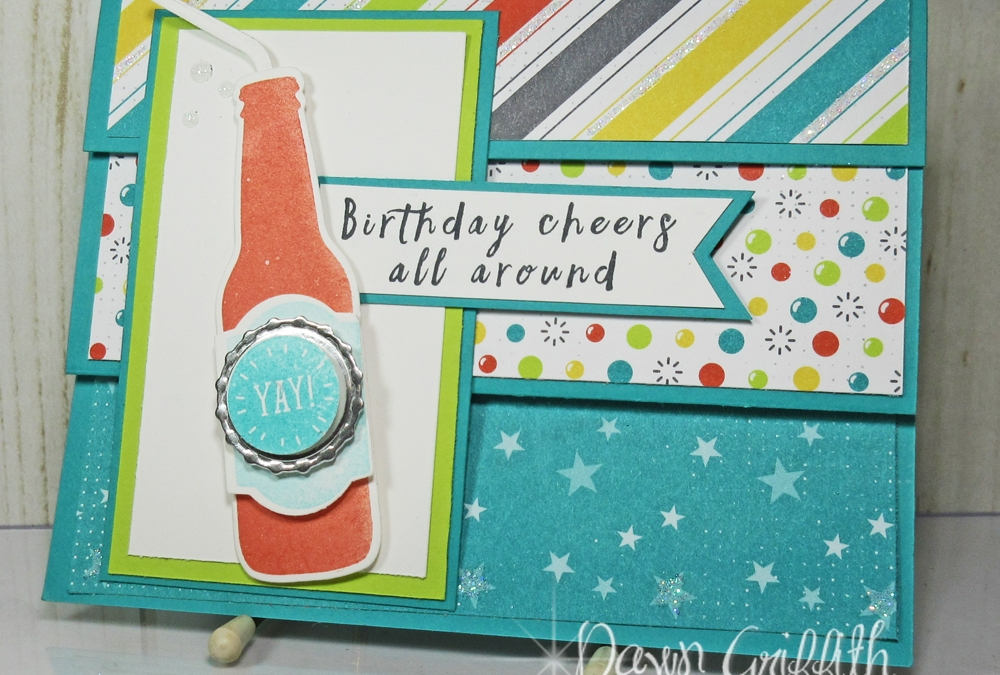 Bubble Over fun fold gift card holder video