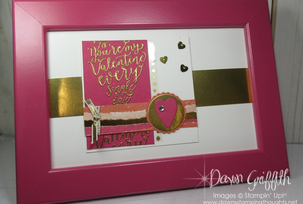 Valentines Day Framed Art