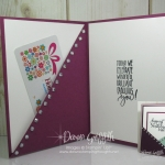 Diagonal Fold ~ Inside Pocket card  video