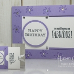 Two for Thursday ~Window Slider card video