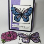 Easy Stained Glass Glitter Video