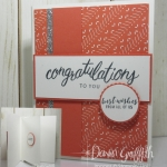 Accordion Fold Congratulations card video
