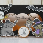 Diorama Box Halloween card video