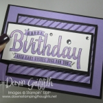 Two for Thursday ~ Ombre Birthday card video