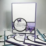 Butterfly Gala Birthday Cards