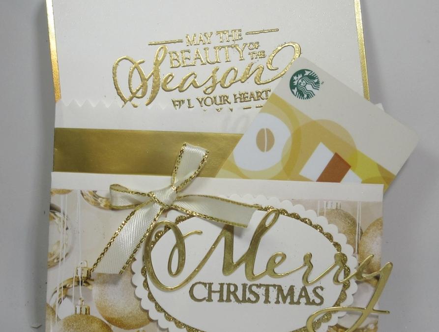 Two for Thursday ~ Striped Envelope Gift Card Holder video