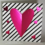 Gate Fold Heart card video