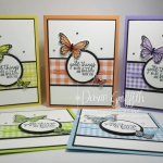 Two for Thursday ~ Embossed Butterfly Gala card videos