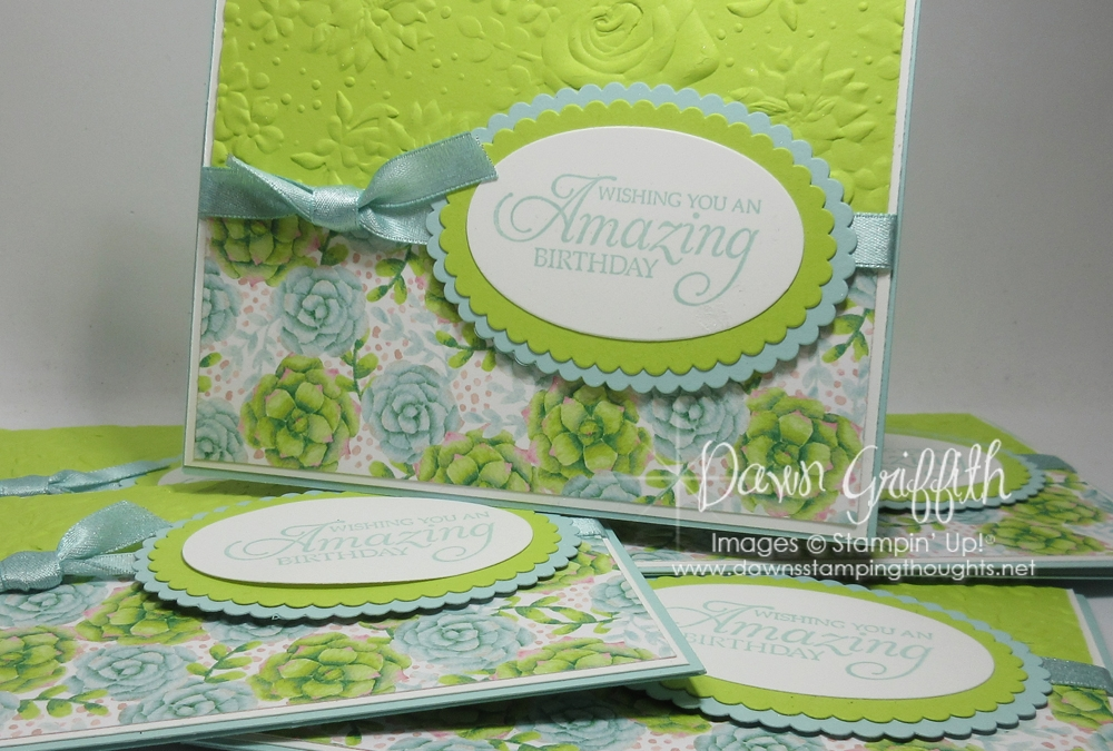 Two for Thursday ~ Amazing Painted Seasons Birthday card videos