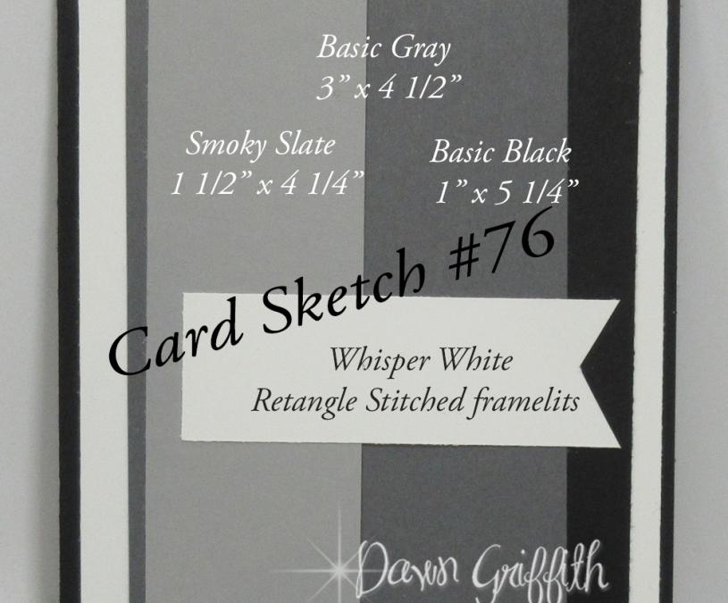 Card Sketch #76