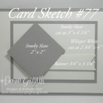 Card Sketch #77